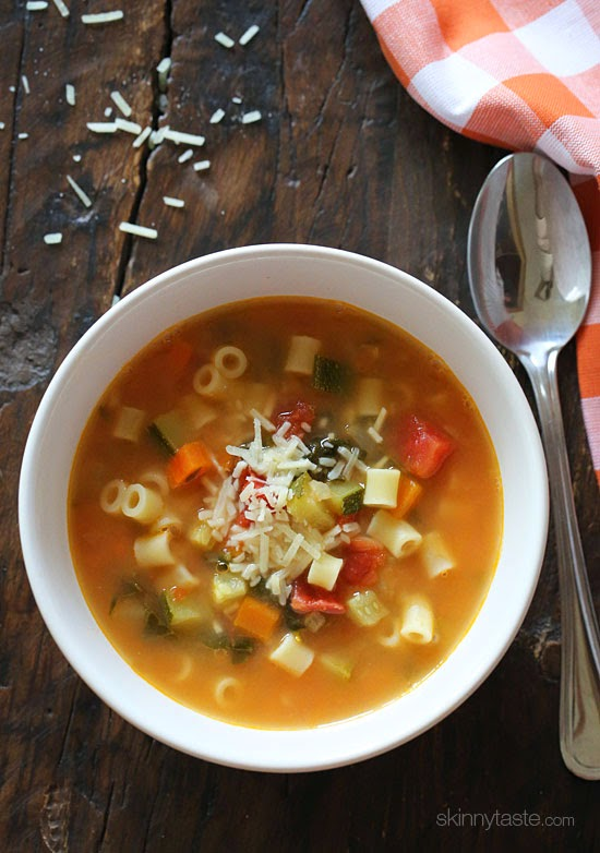 healthy-Crock-Pot-Minestrone-Soup