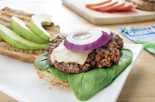 Mexican Ranch Burgers Low Carb Recipe