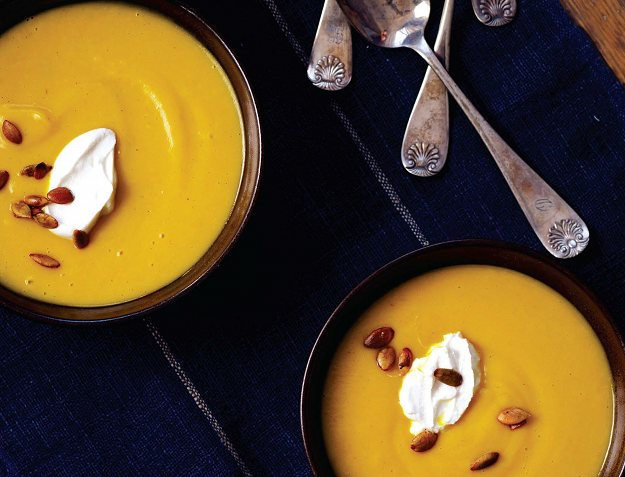 healthy-roasted-squash-with-almond-cream-soup