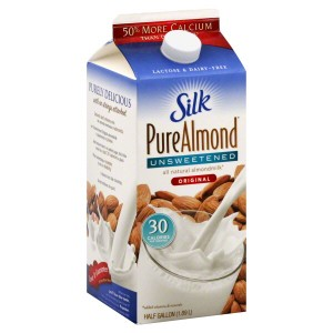 almond milk carton