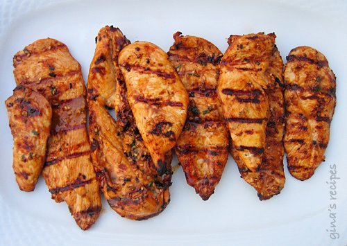 Asian grilled chicken low carb recipe