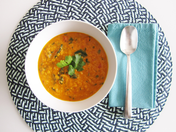 Coconut Curry Lentil Soup Low Carb Recipe